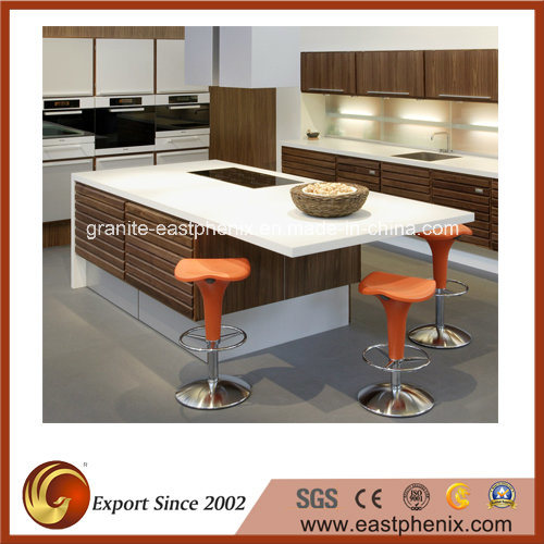 Polishing Quartz Kitchen Countertop for Sale