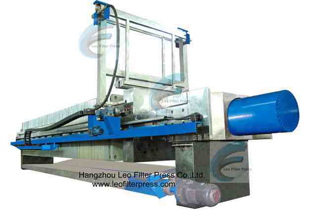 Leo Filter Automatic Filter Cloth Washing Filter Press
