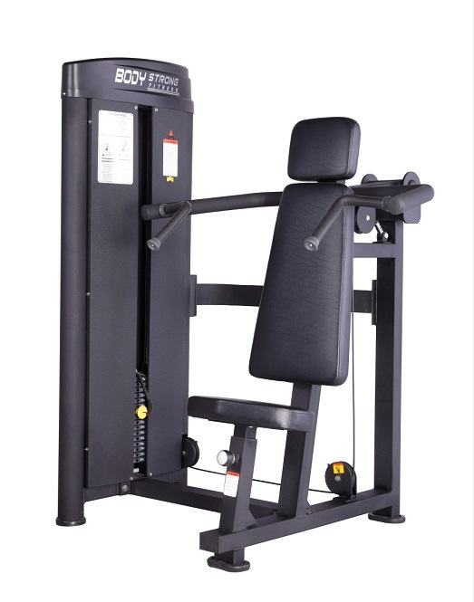 Shoulder Press Fitness Equipment with Black Painting Sp-003