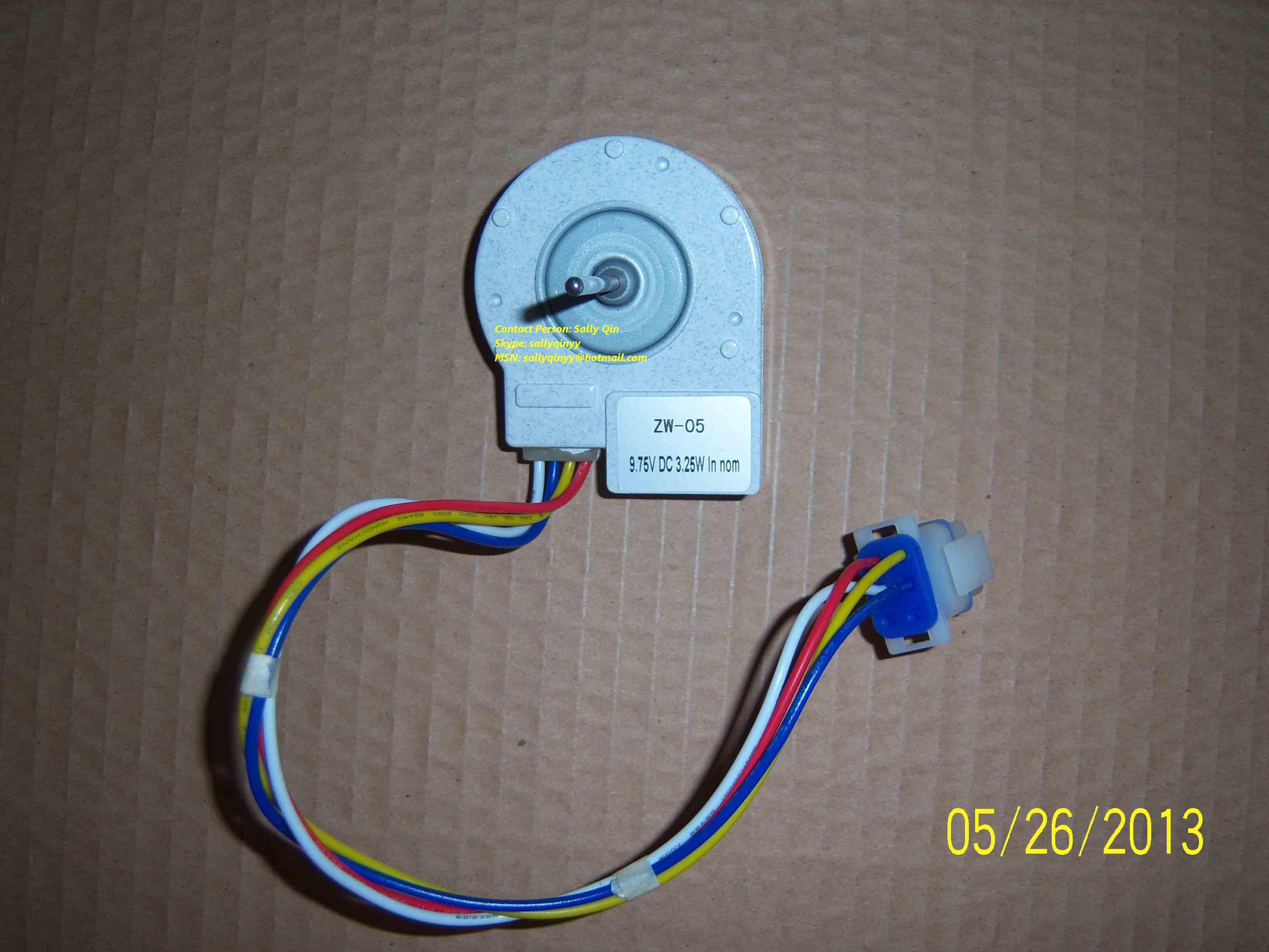 DC Brushless Refrigerator Fan Motor