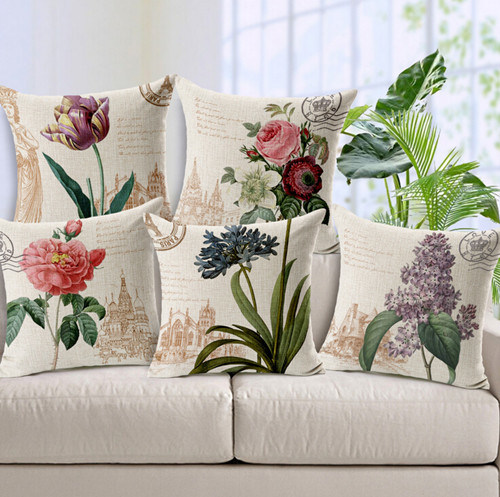 Classical Digital Printed Cushion Pillow (SCU-020)