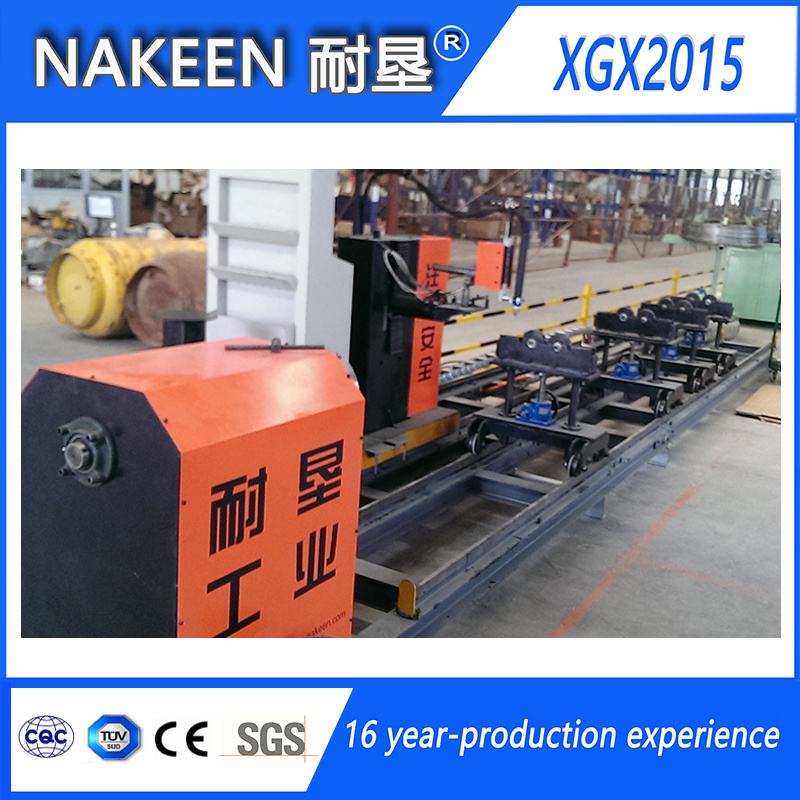 Stainless Steel Pipe Cutting Machine of Three Axis