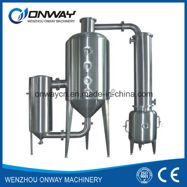 Wz High Efficient Vacuum Raising Film Single Stage Evaporator