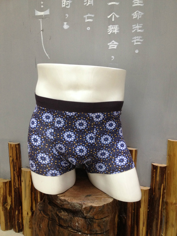 Men Boxers Printed Underwears 006