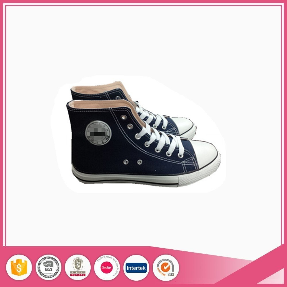 Low Cut and High Top Adult Classical Vulcanized Canvas Shoes