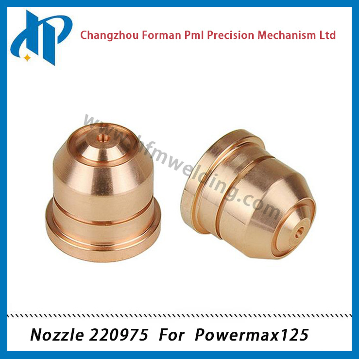 Nozzle 220975 for Powermax 125 Plasma Cutting Torch Consumables 125A