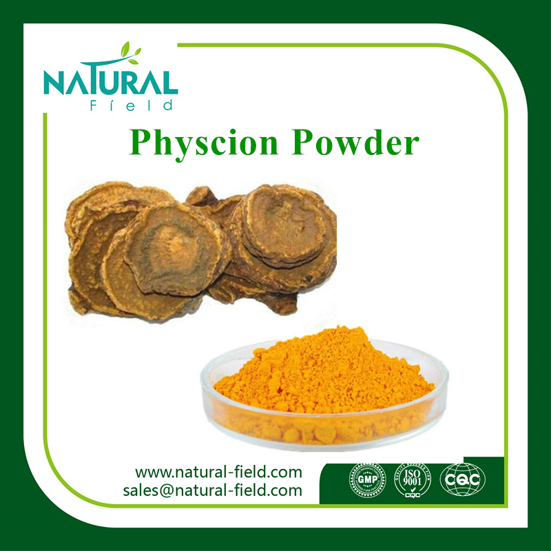100% Natural Herbal Extract Rhubarb Extract Physcion CAS 521-61-9