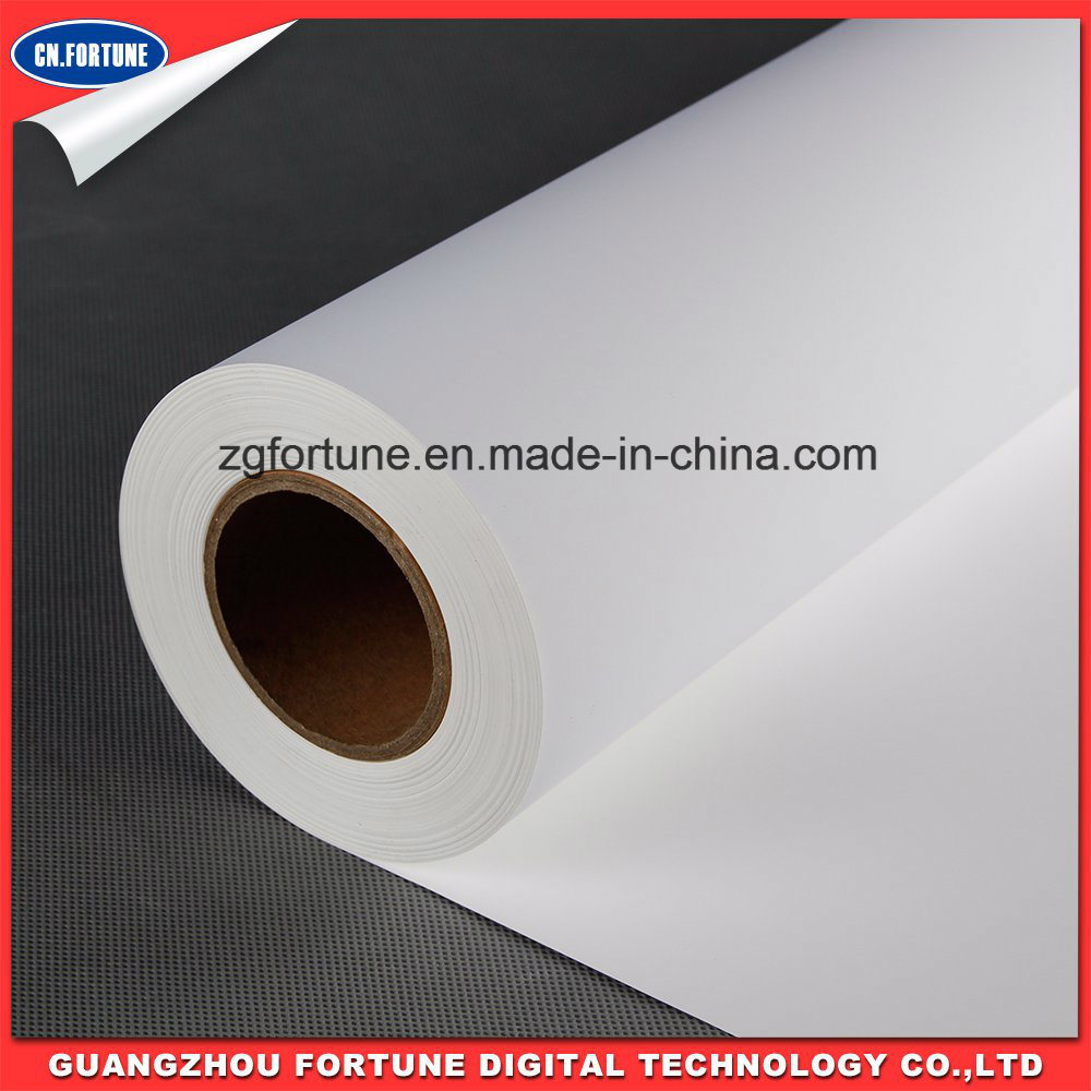 High Quality Matte Water Base Inkjet Media Self Adhesive PP Paper PVC Adhesive Paper