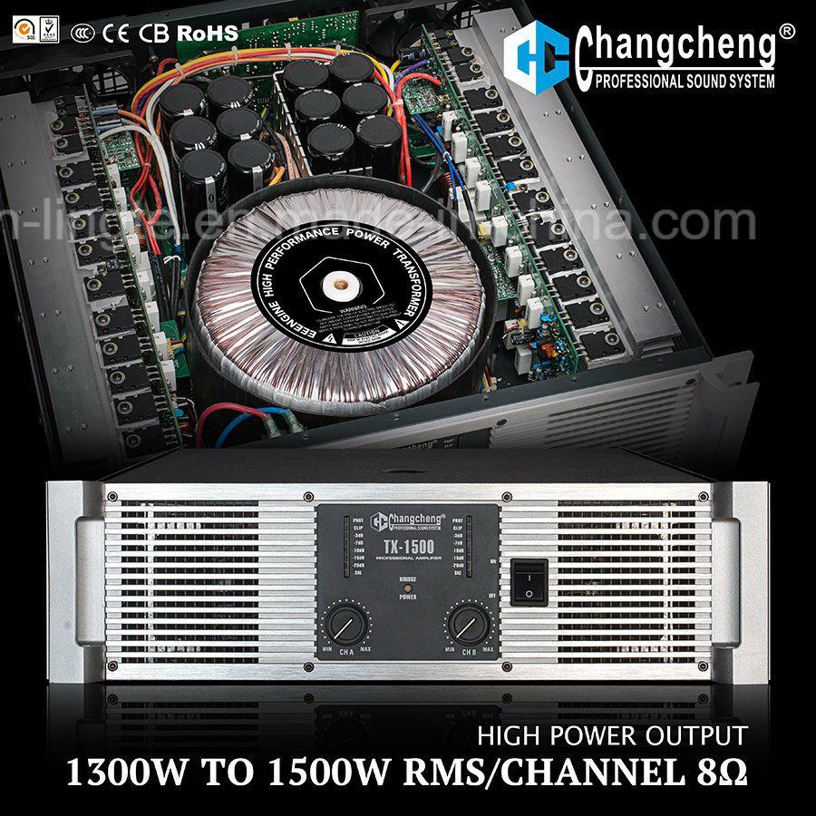 Tx Series High Power Class H Professional Power Amplifier