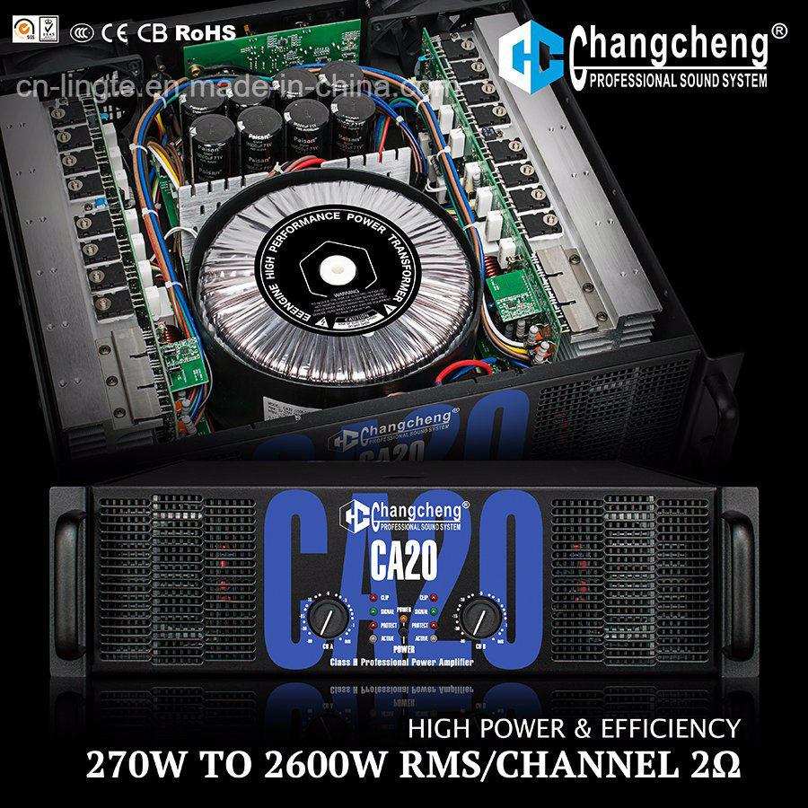 High Power Ca20 Series Tier 3 Class H Professional Power Amplifier