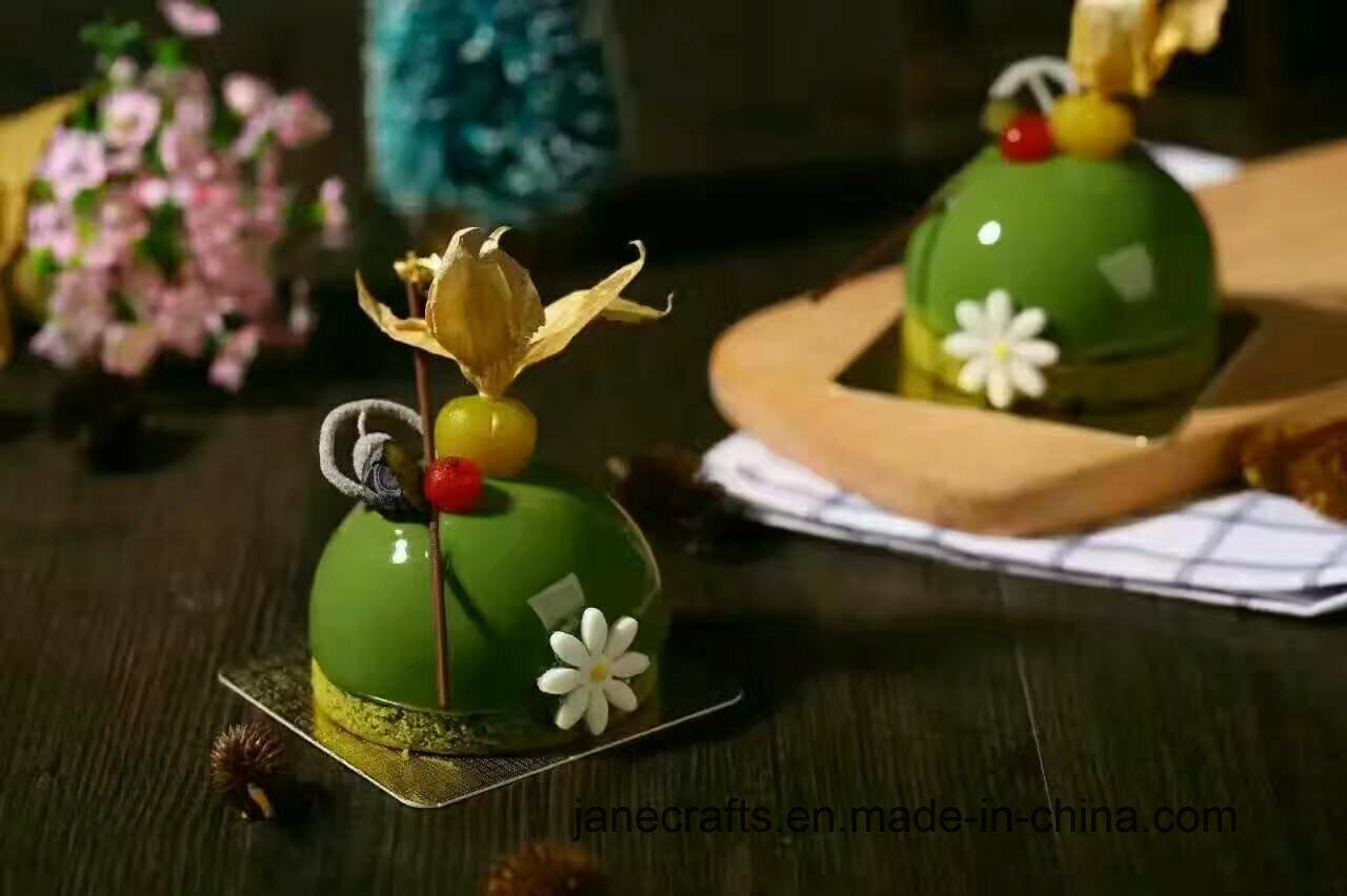 Hot Selling Flower Shape Cake Decor Chocolate