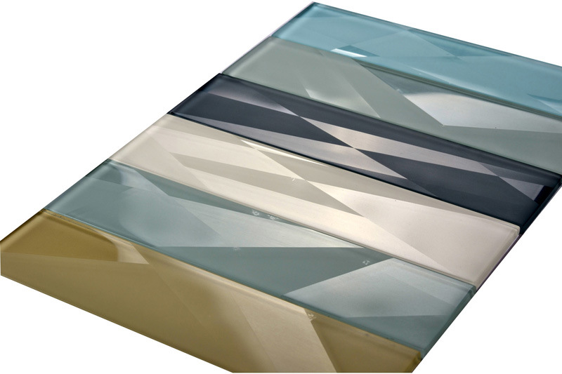 3D Glass Tile at Any Color with Matte Surface