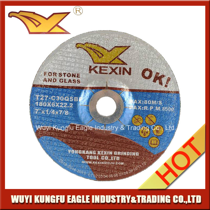 180X6X22.2mm Silicon Carbide Abrasive Grinding Disc for Carbon