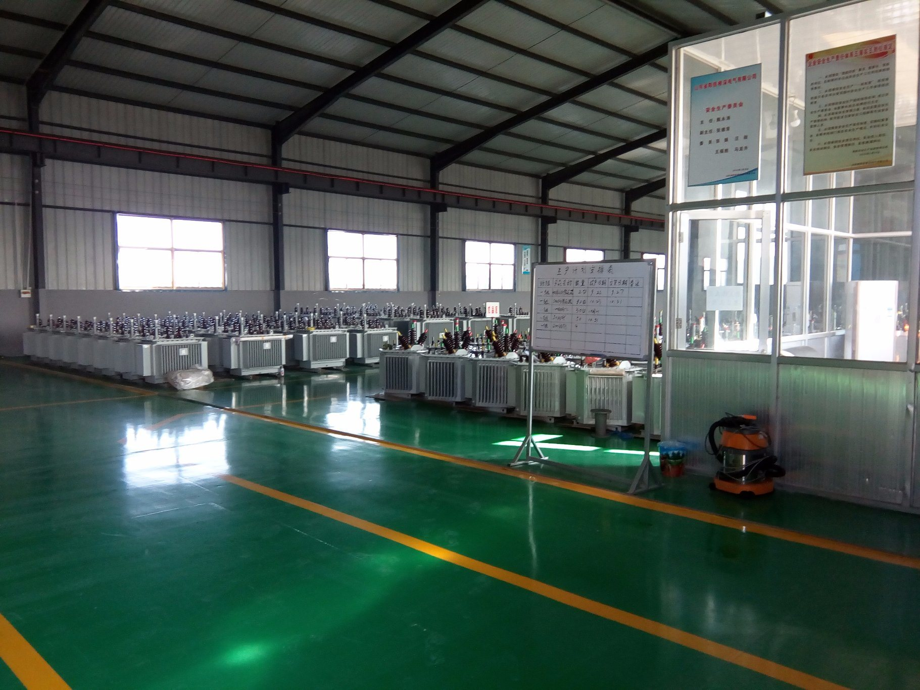 Sh15 10kv Three Phase Oil-Immersed Full-Sealing Amorphous Alloy Energy-Saving Power/Distribution Transformer