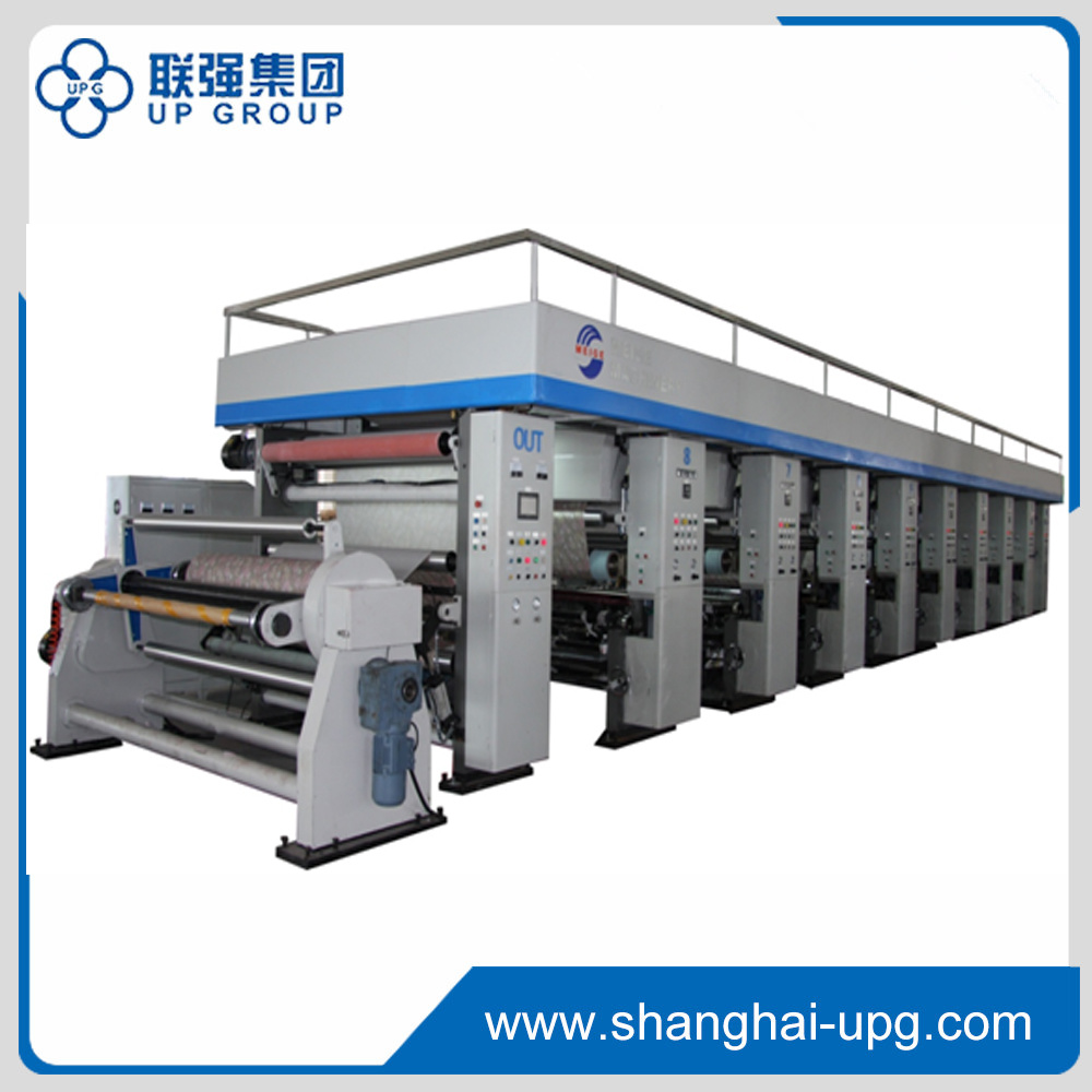 Automatic Rotogravure Printing Press for Decorative Paper (ZHMG-601950)