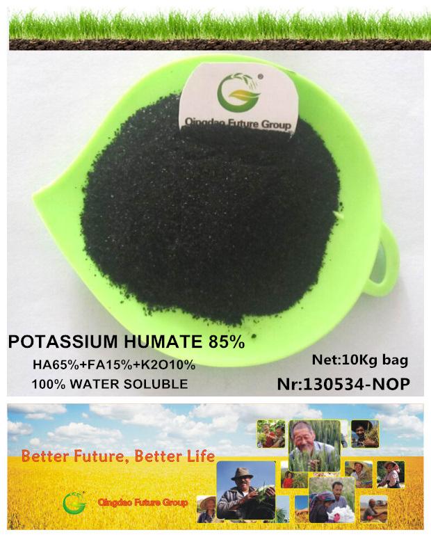 Organic Potassium Humate Price in Agriculture