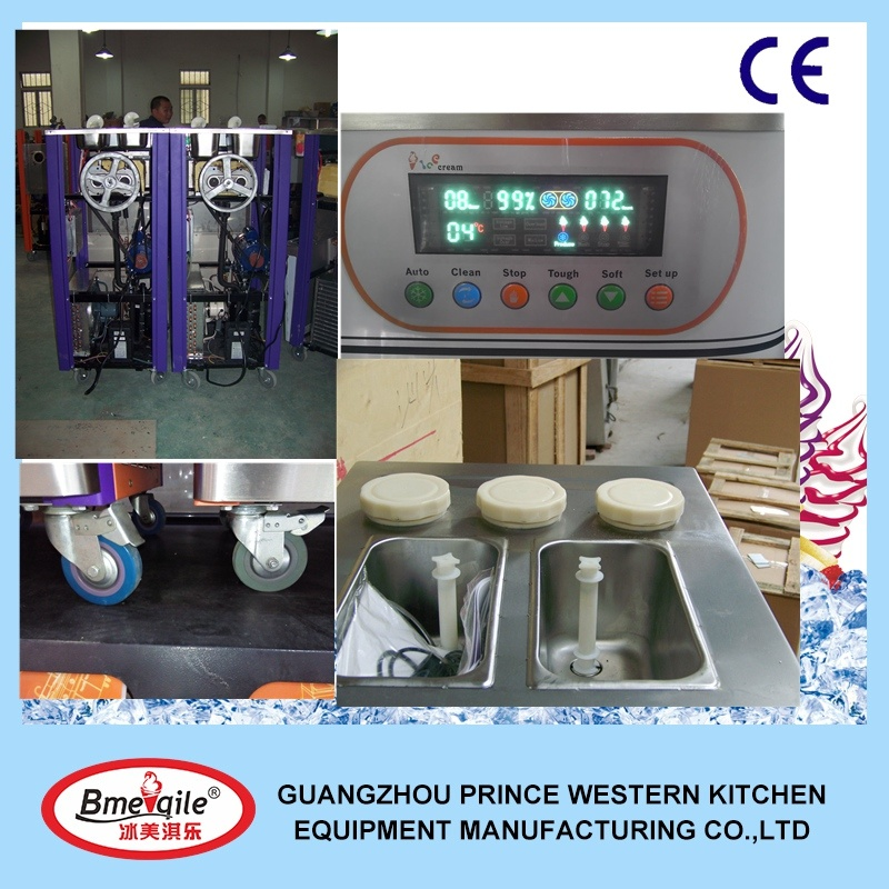 Ice Cream Machine in China Made by Professional Manufacturer 0086-15626236799