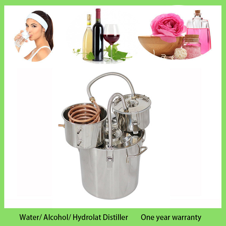 New 30L/8gal Home Brew System Micro Beer Alcohol Distillation Equipment