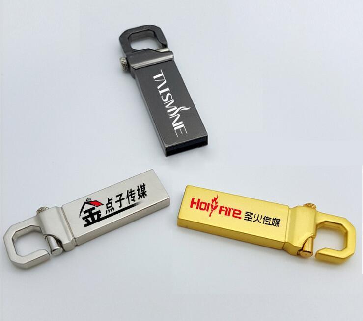 Gift Free Logo Metal Key USB 2.0 USB 3.0 Flash Disk