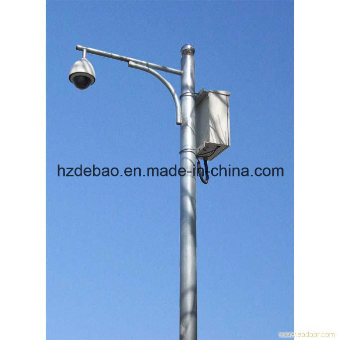 Steel Structure Traffic Camera Pole