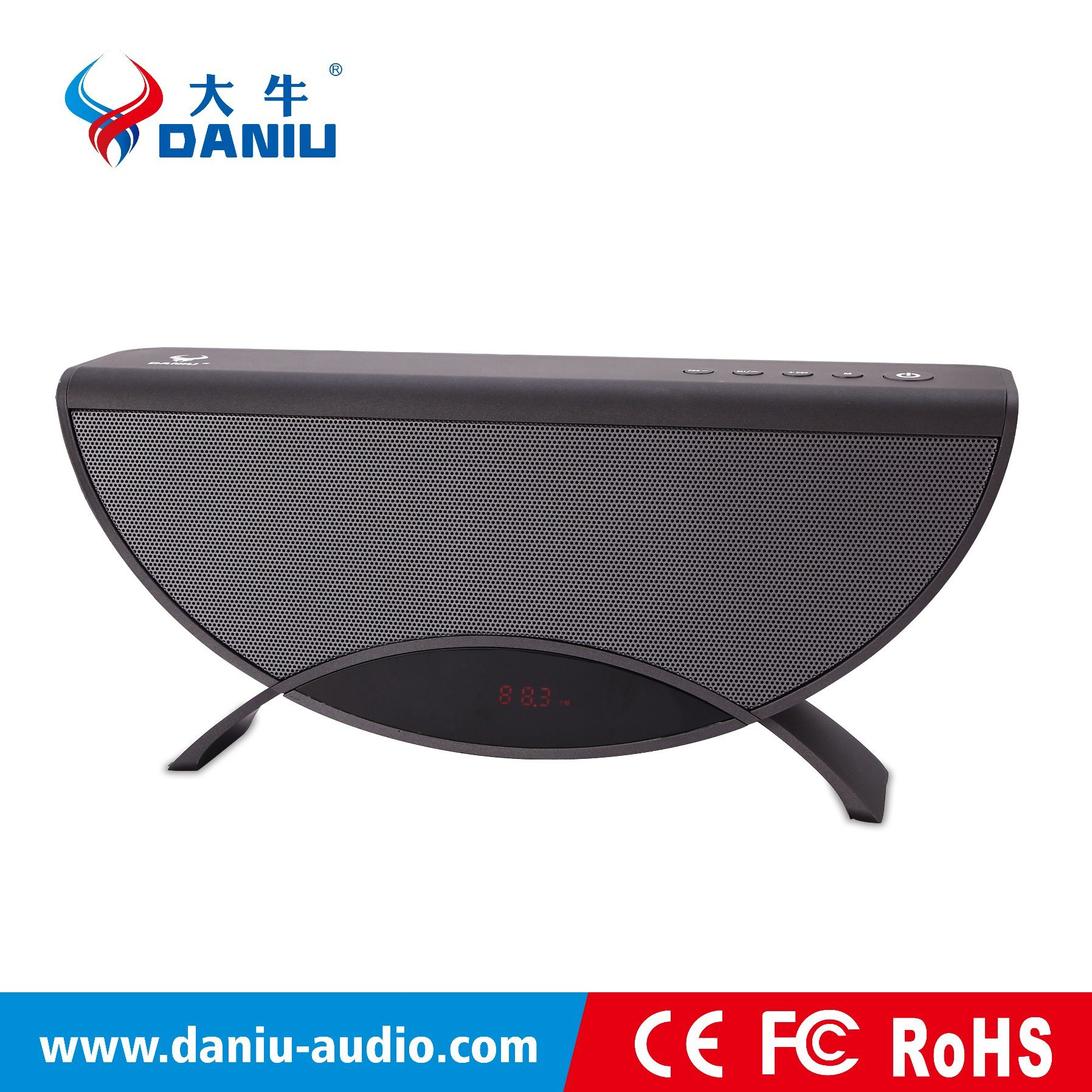 High-Quality Bluetooth Speaker with LED Display