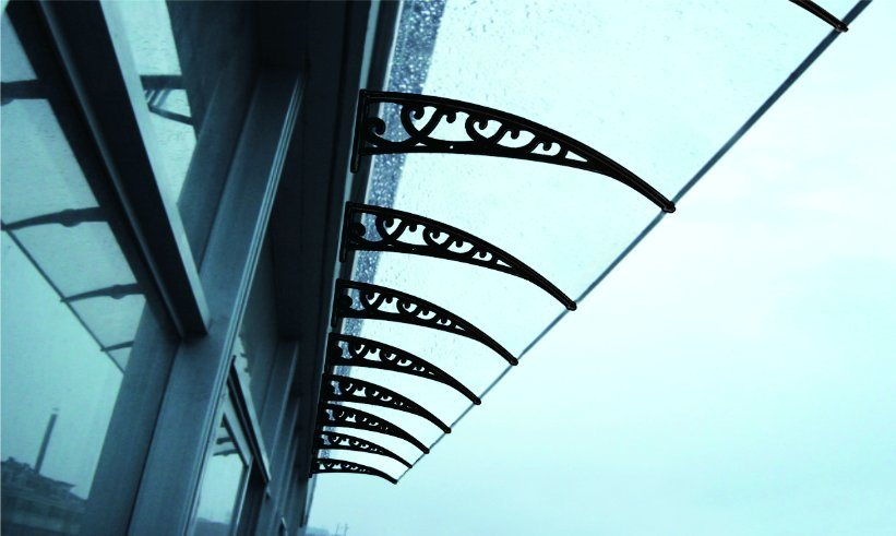 Overhead Windshield Use Polycarbonate/Awning/Shade