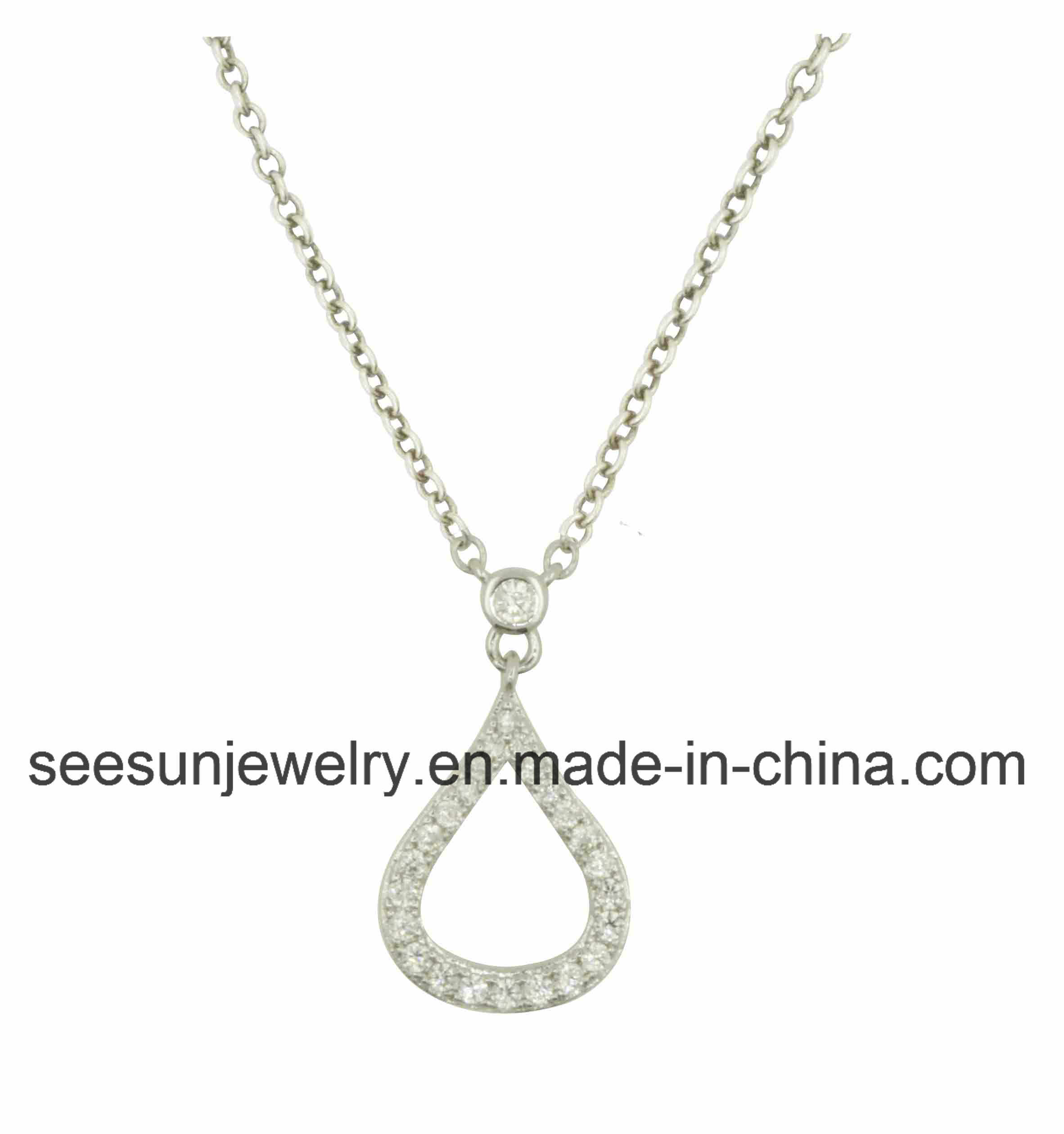 2016 Trendy Fashion Silver Jewelry Necklace for Women