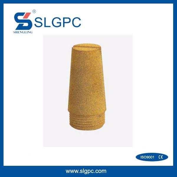 Brass Pneumatic Muffler Silencer D Type BSLD