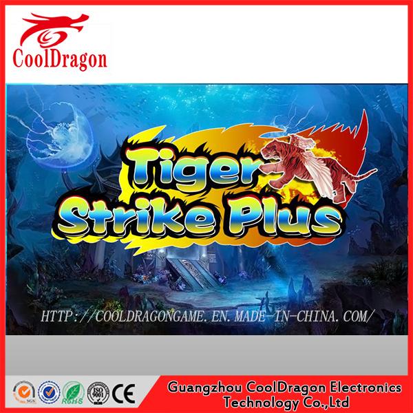 Tiger Strike Skilled Fish Hunting Games USA Video Arcade Shooting Game Machine