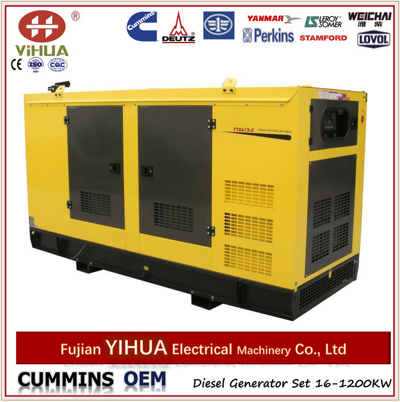 Canopy Diesel Generators with Perkins Engine From 7kw to 1800kw