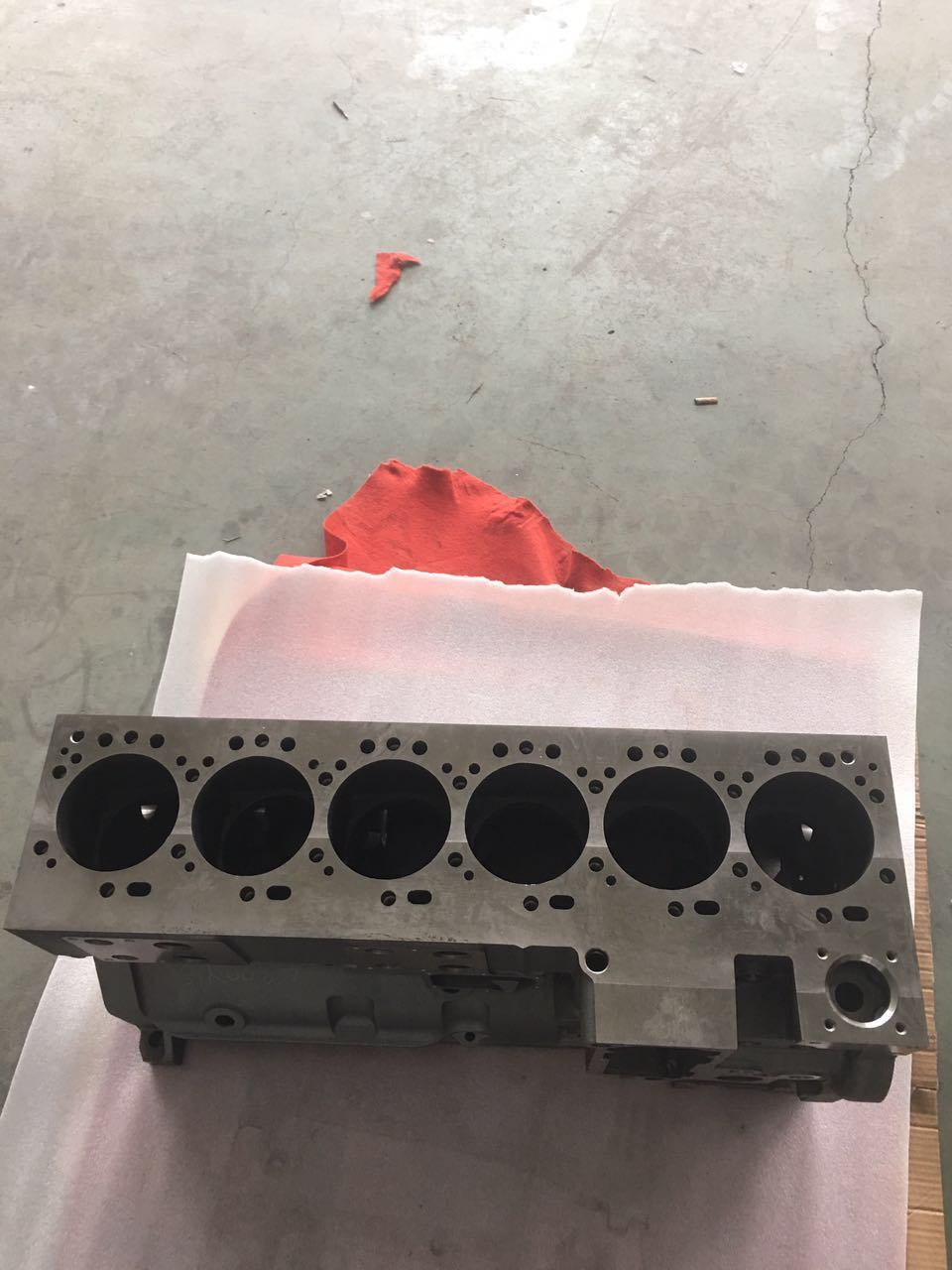 5260561 Gumins Engine Parts Cylinder Block 6CT