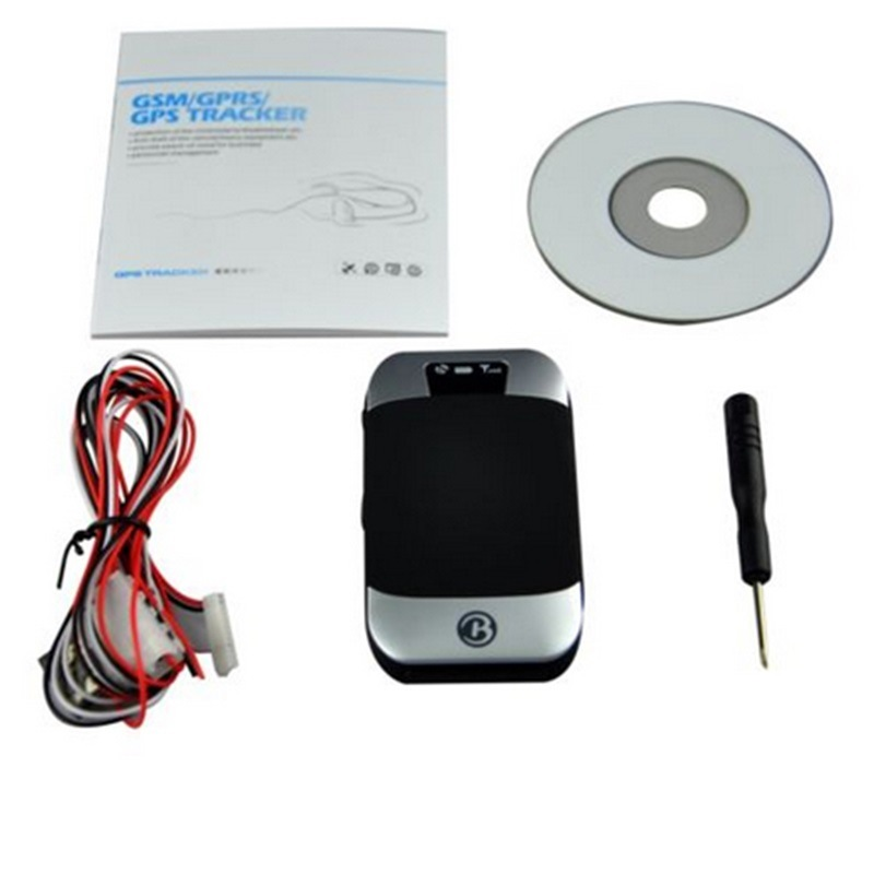 Tk303b Auto Car Motorcycle GPS Tracker Water-Resistant Anti-Theft GSM GPRS Tracking Device with Sos Alarm Over Speed Alert