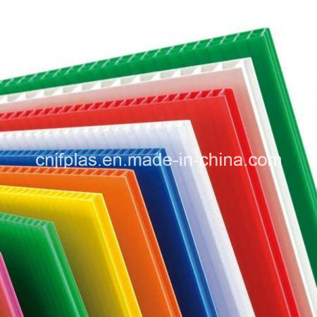 Corona Treated PP Corrugated Sheet/ PP Hollow Sheet/ Correx Board for Printing
