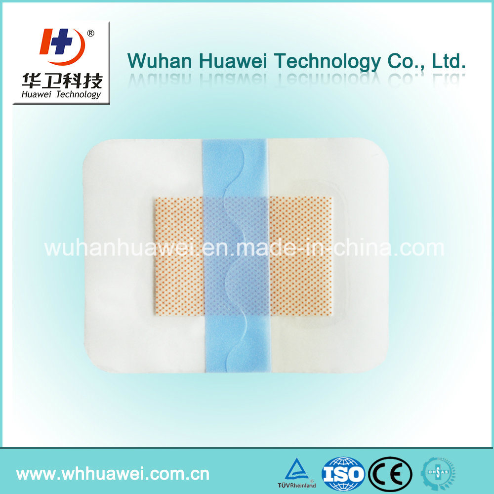 Medical PU Film Roll Raw Material with S Line Cutting Linier for Transparent Wound Dressing