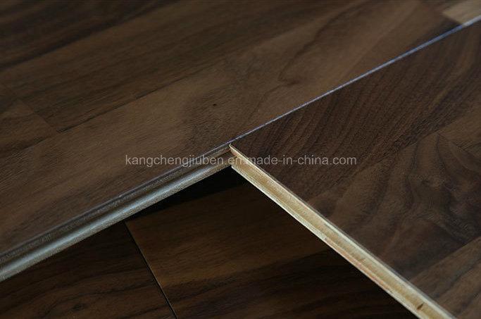High Quality of The Black Walnut Wood Parquet/Laminate Flooring
