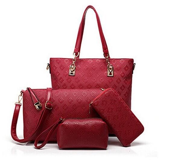 4 Piece Single Shoulder Multifunctional Handbag (BDMC141)