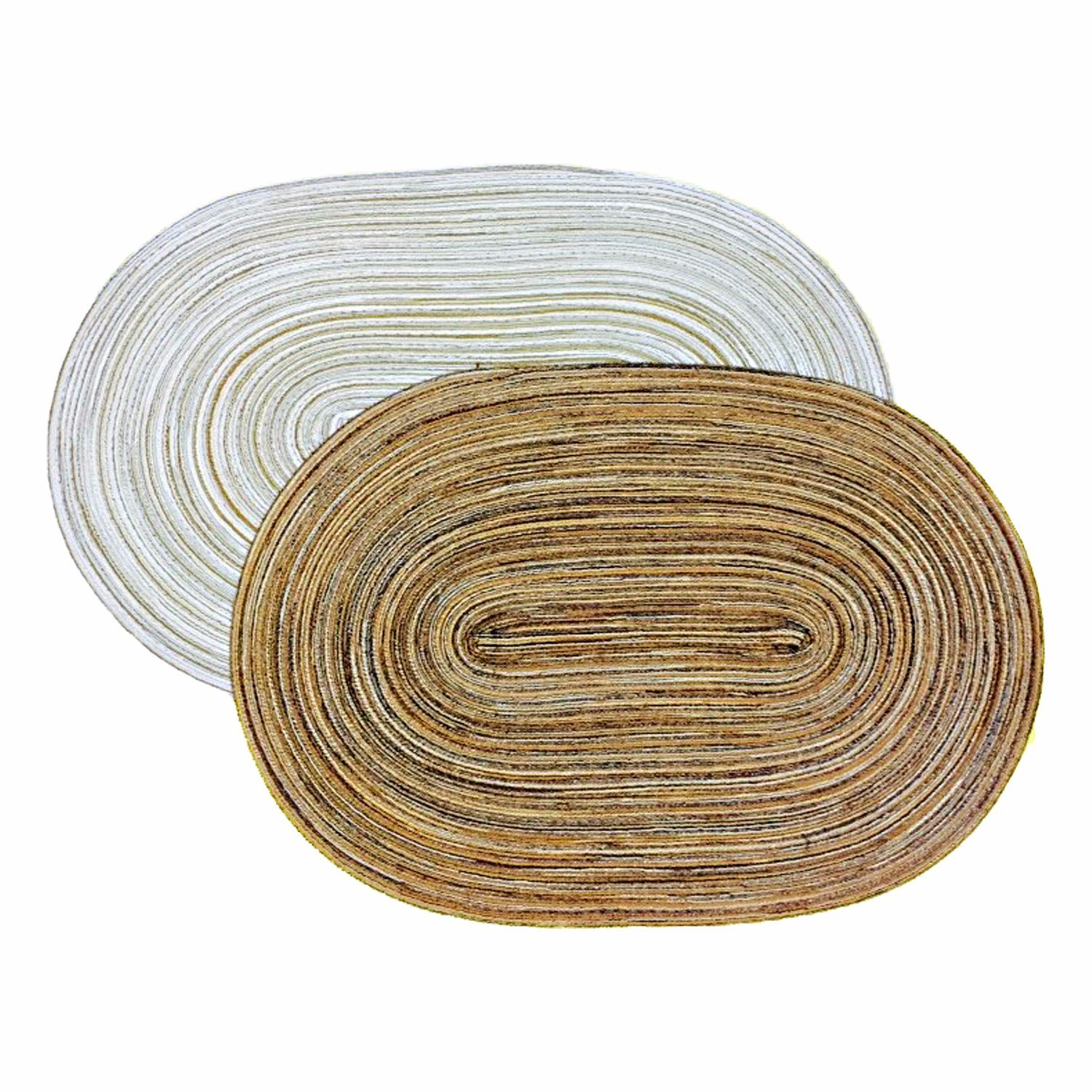 100% PP Oval Placemat for Tabletop & Flooring