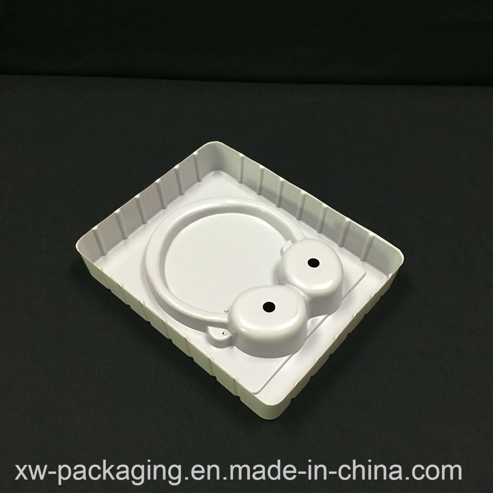 China Produce Customized Electronic Headset Blister Clamshell Packaging Tray