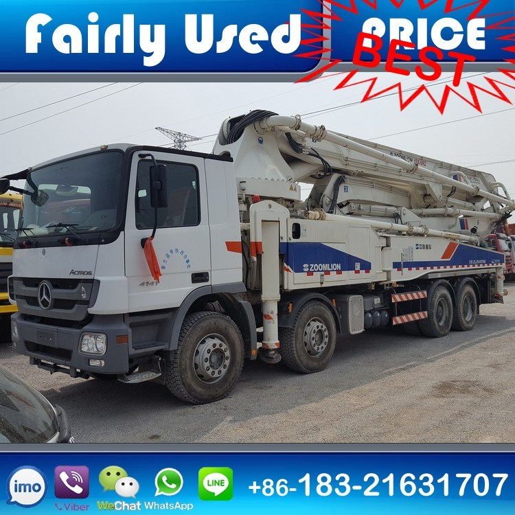Used Zoomlion Pump Truck of Zoomlion Pump Truck for Sale