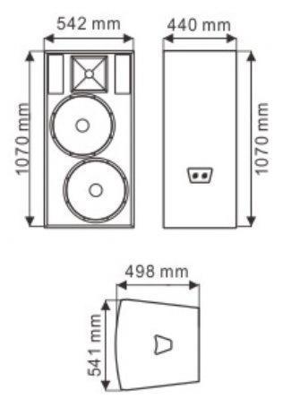F25 Dual 15′′ PRO Speaker (TACT)