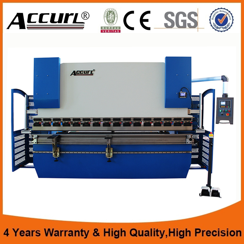 Full Hydraulic CNC Synchronized Press Brake 4 Axis