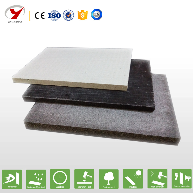 Decorative Fireproof MGO Board Environmental Protection Building Material