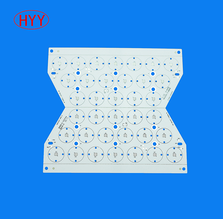 Aluminum COB LED Bulb PCB PCBA with Mirror ((HYY-128)