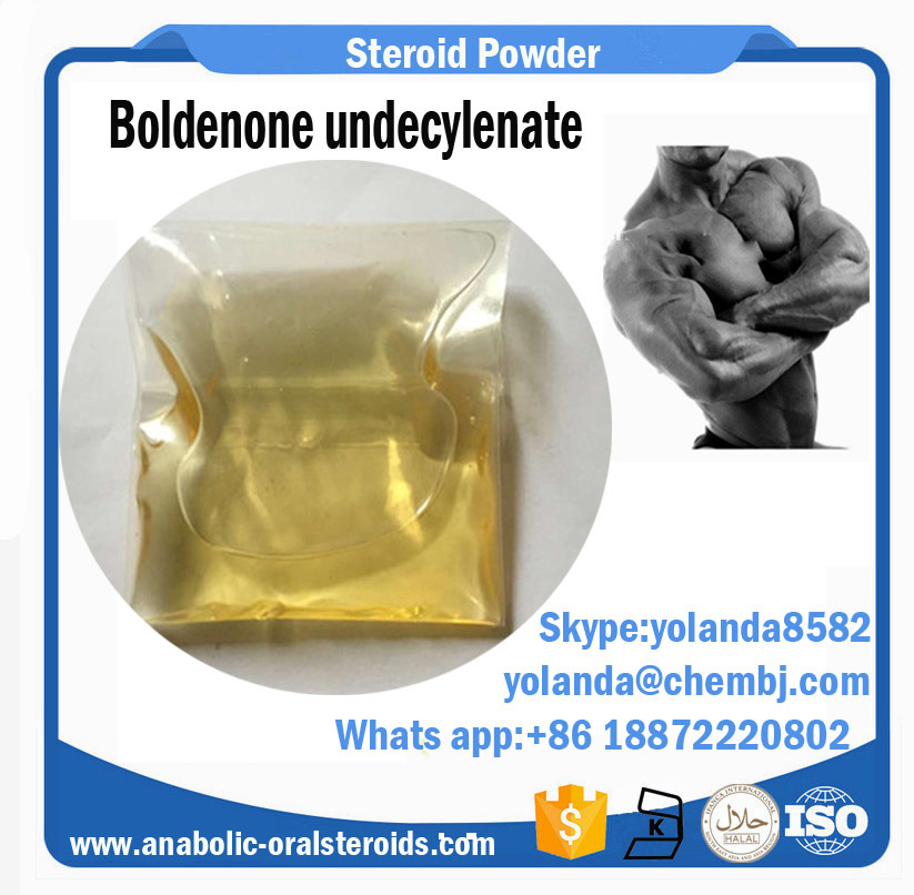 99.5% Bodybuilding Fitness Injection EQ/Equipoise Boldenone Undecylenate 600mg
