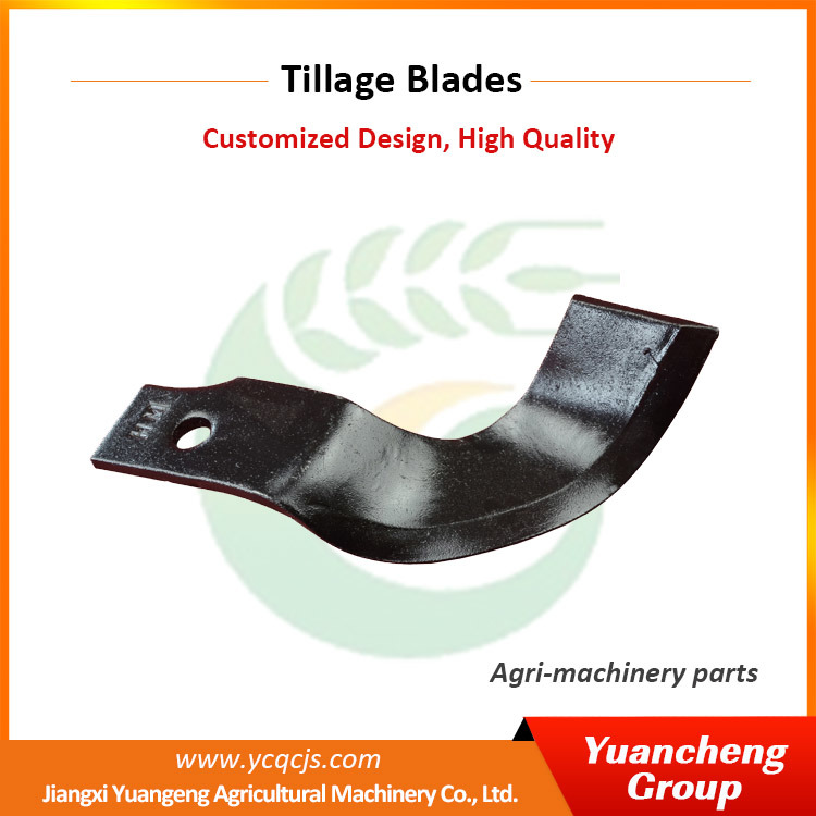 Chinese Factory Manufacturing Spring Steel Flail Mower Blades