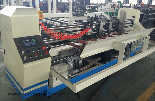 Automatic Folder Gluer & Strapping Machine with ISO9001 High Quality and Manufacturer