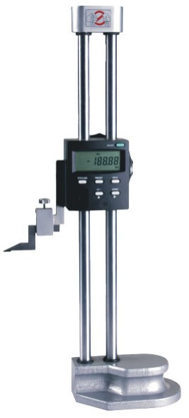 Double Column LCD Display Digital Height Gauge Measuring Tools