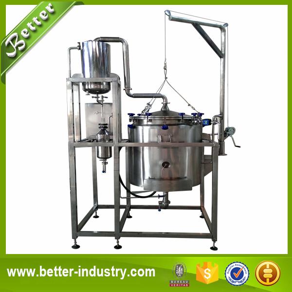 Industrial Steam Distillation Distillation Machine Herb Essential Oil Distiller