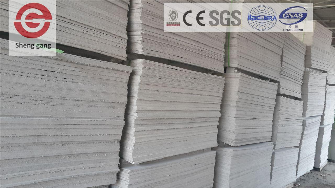Firproof 2440X1220mm Magnesium Oxide Sheet