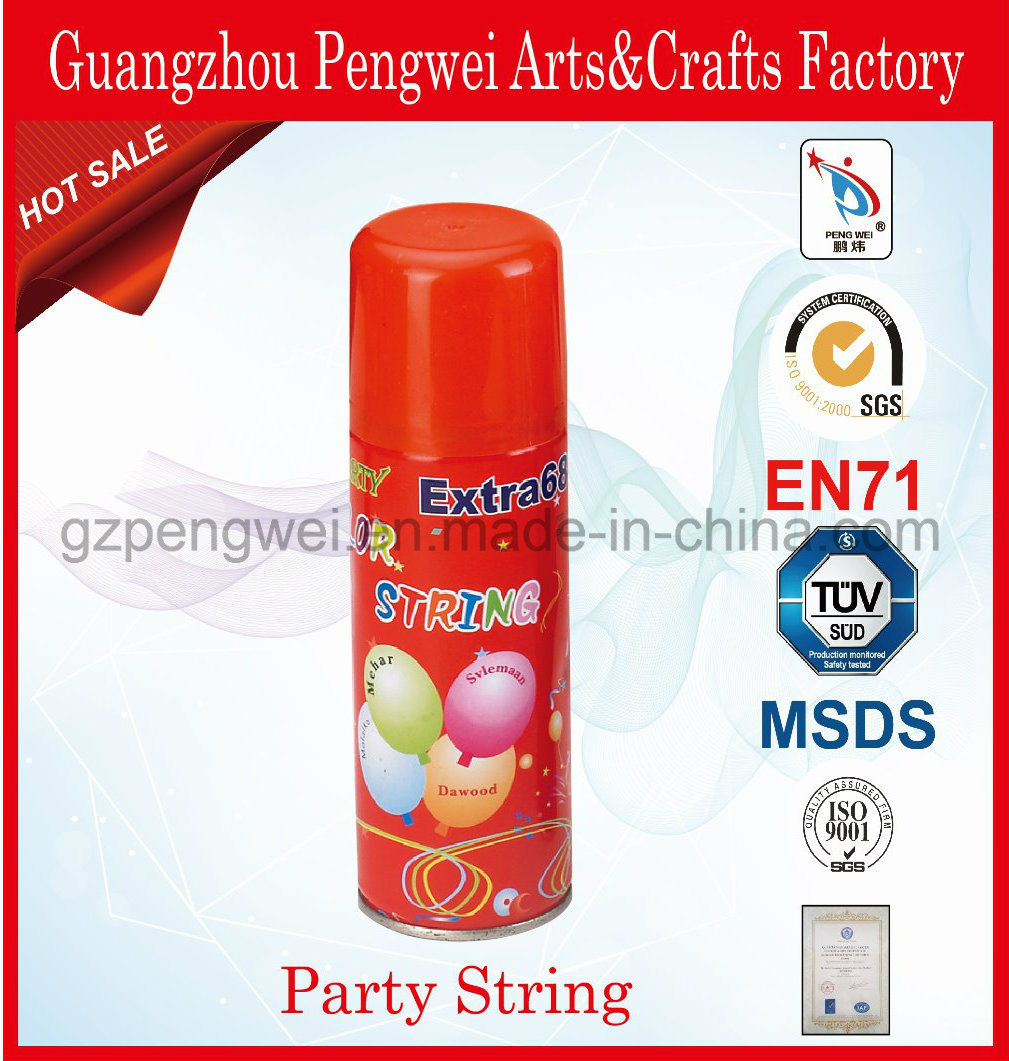 150ml Party Silly String with Toy-Gun